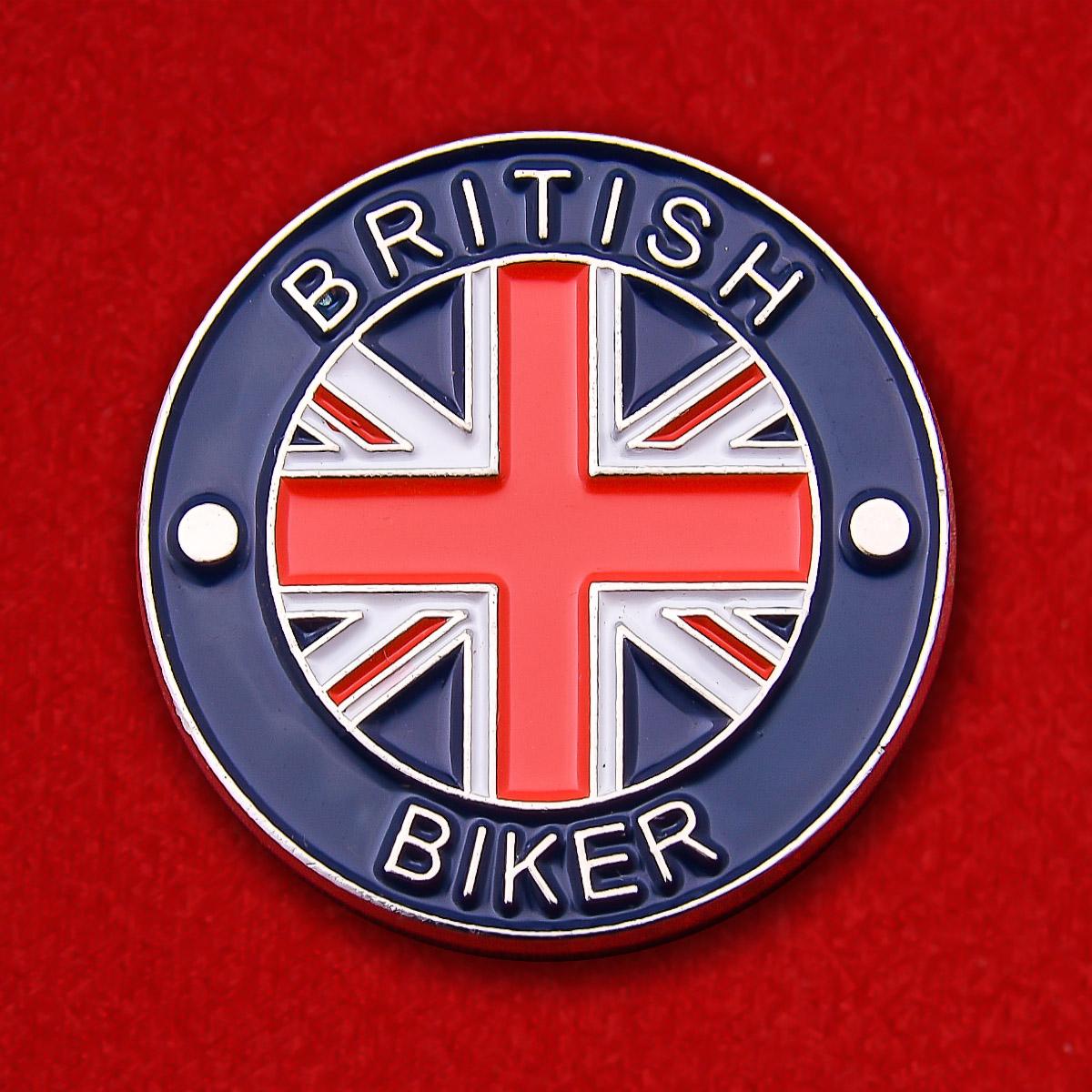 "Значок ""Британский байкер"""