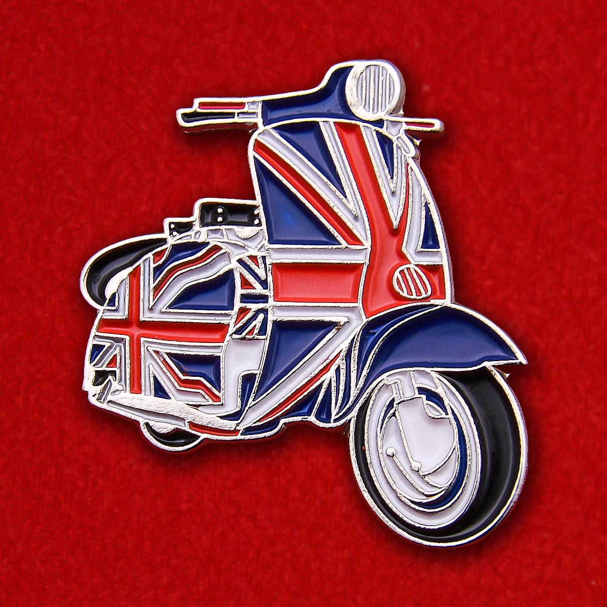 "Значок ""Британский мотороллер"""