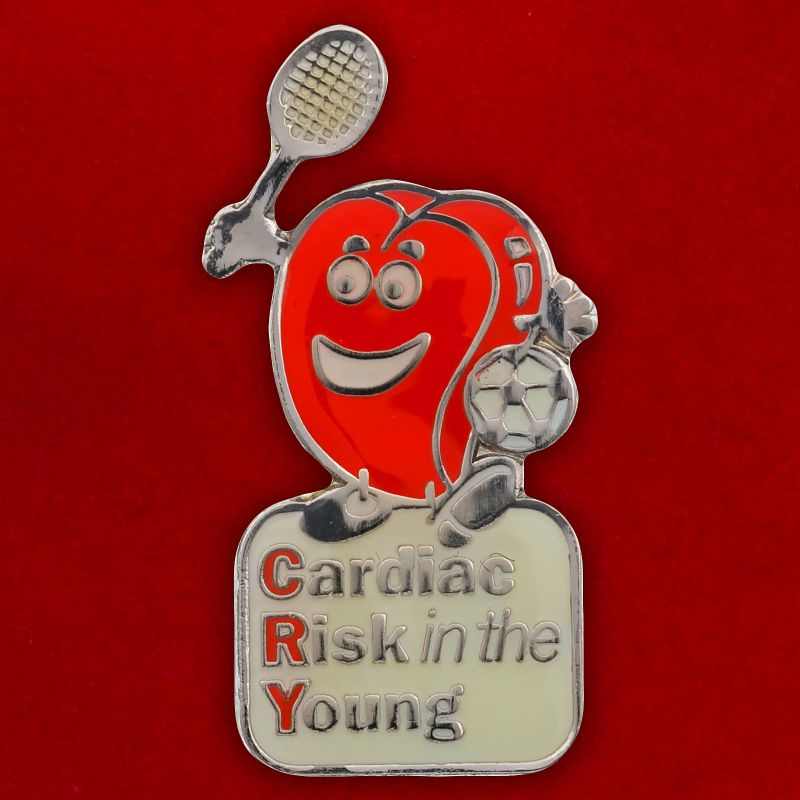 """Значок """"Cardiac Risk in the Young"""""""