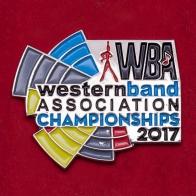 Значок чемпионата американских школьных и студенческих парадов WBA 2017