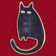 """Значок """"Черная кошка"""". Отгоняет неудачи"""