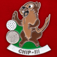 """Значок """"Chip - In"""""""