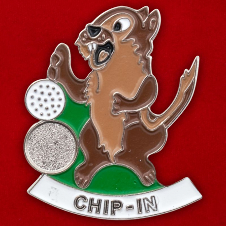 "Значок ""Chip - In"""