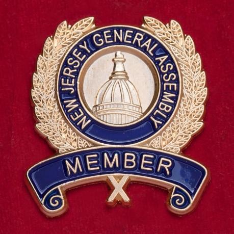 Значок члена Генеральной Ассамблеи штата Нью-Джерси