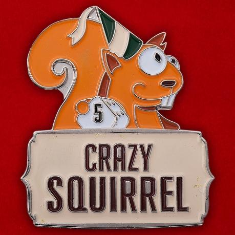 "Значок ""Crazy Squirrel"""
