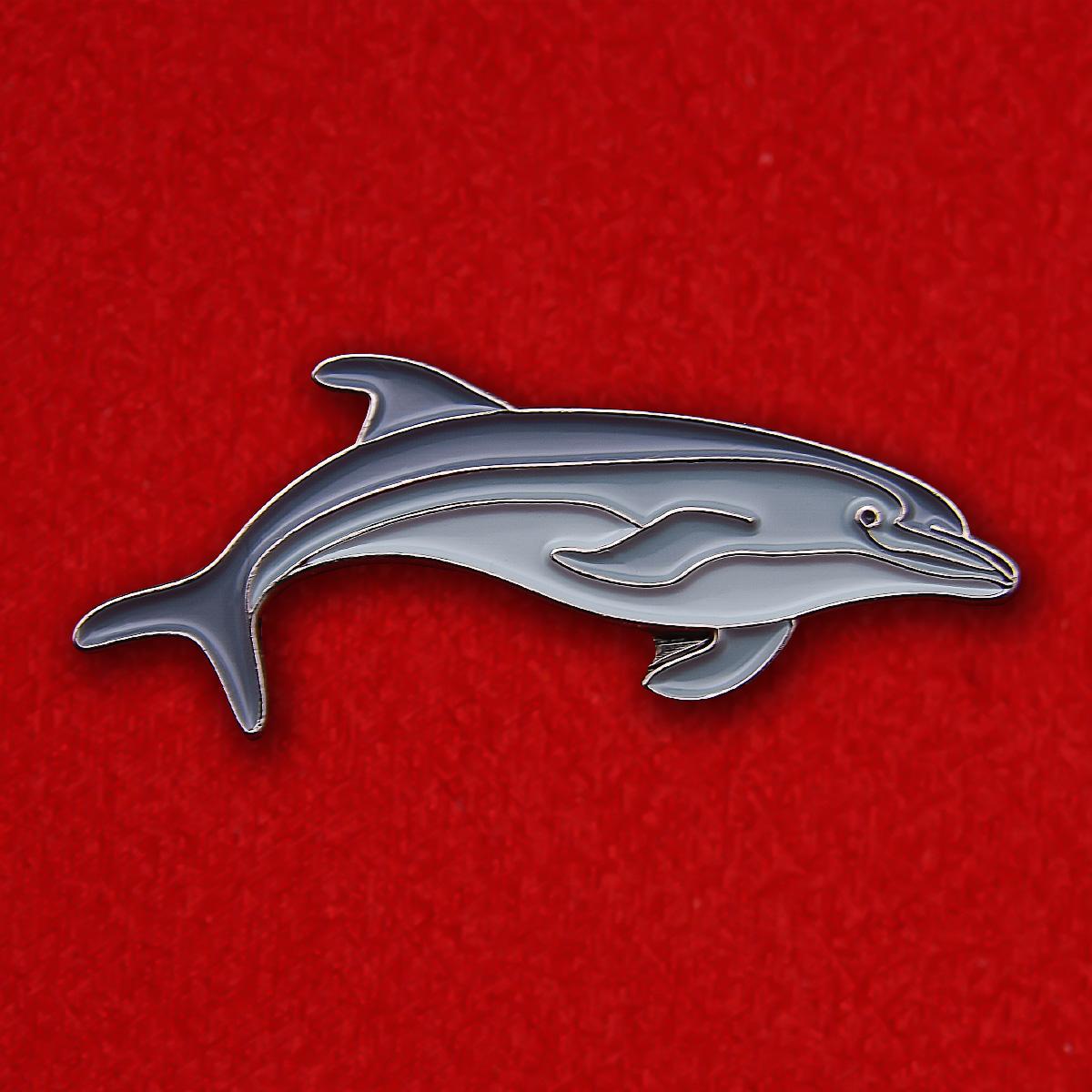 "Значок ""Дельфин"""