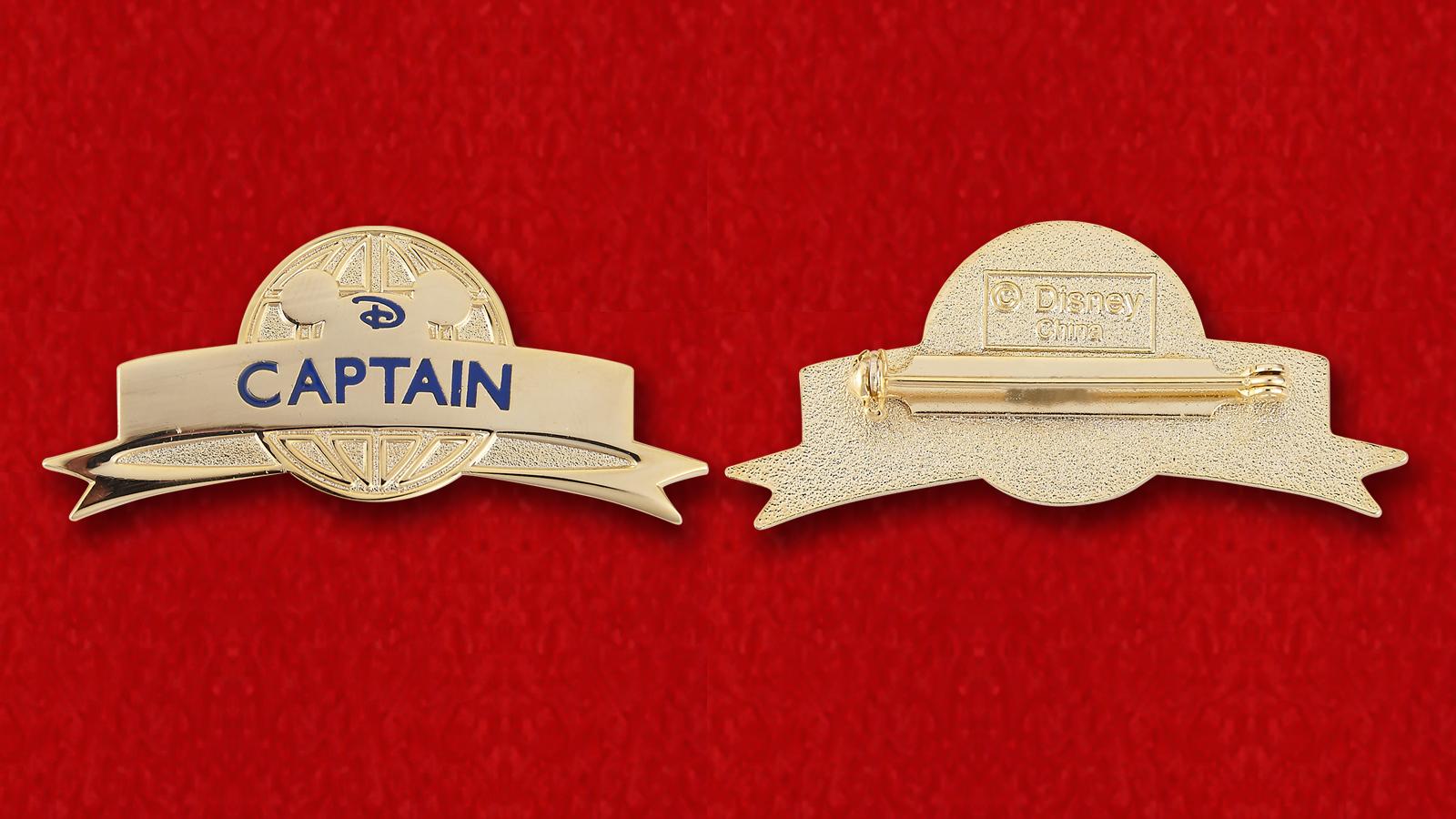 """Значок Диснея """"Капитан"""""""