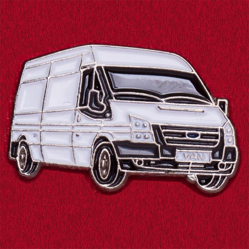 """Значок для автомобилистов """"Микроавтобус"""""""