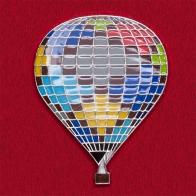 """Значок для клубов воздухоплавания """"Воздушный шар"""""""