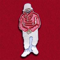 Значок для любителей хип-хопа с канадским рэппером Drake