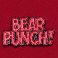 """Значок для суровых парней """"Бью, как медведь!"""""""