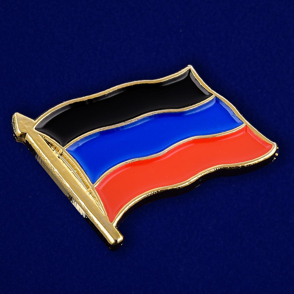 Значок ДНР - общий вид
