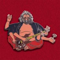 """Значок """"Джерри Гарсия"""" для фанатов группы Grateful Dead"""