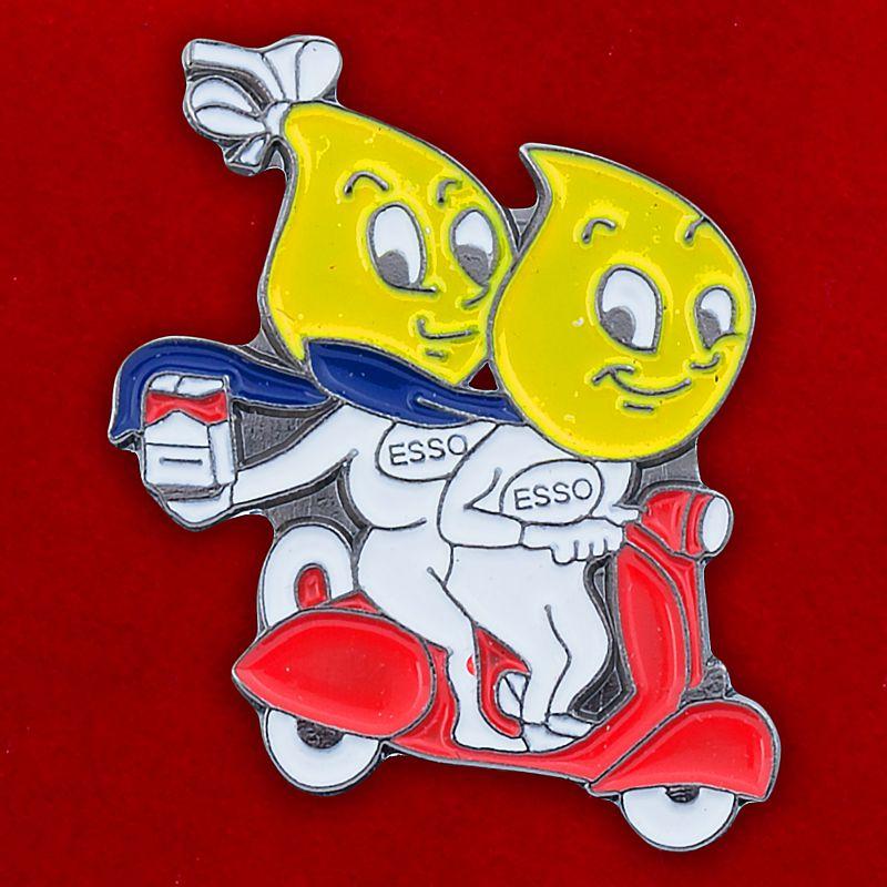 "Значок ""Esso scooter"""