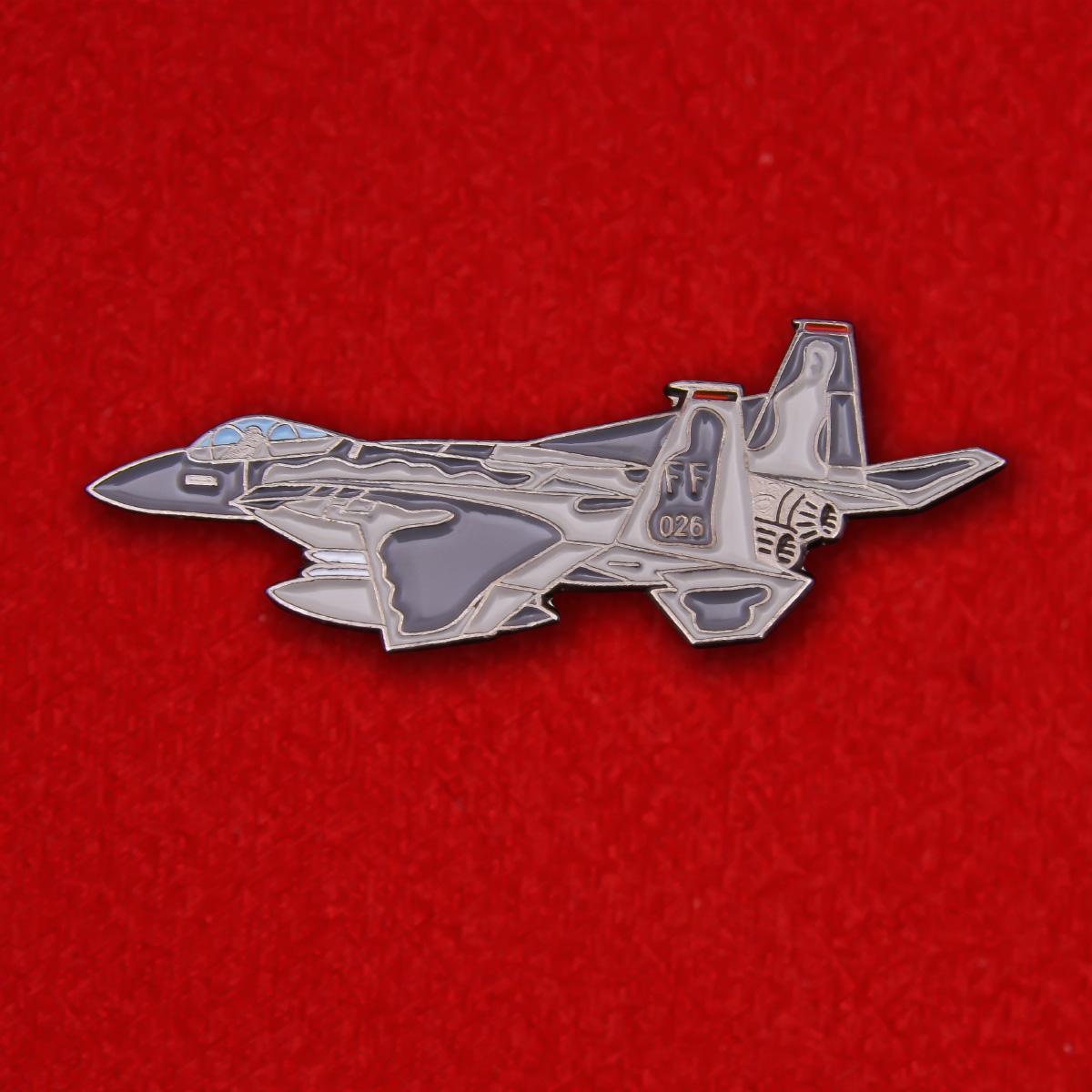 """Значок """"F-15 Eagle"""""""