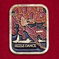 Значок фестиваля танцев Sizzle Dance в Канаде