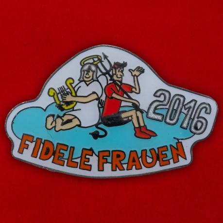 """Значок """"Fidele Frauen 2016"""""""