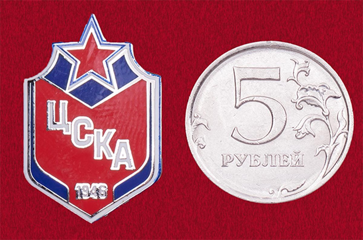Значок ФК ЦСКА. Для настоящих коней!