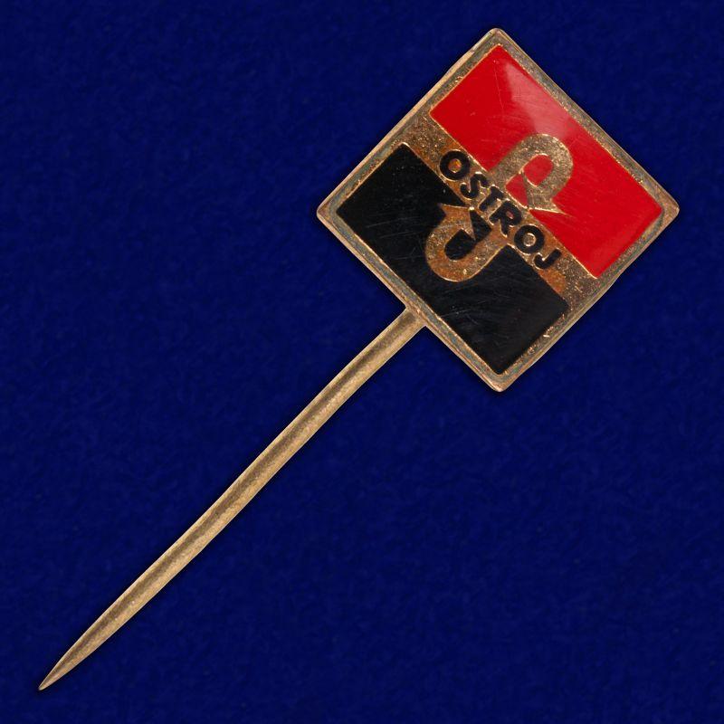 """Значок """"Флаг анархистов"""""""