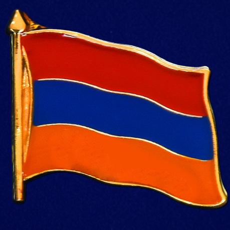 "Значок ""Флаг Армении"""