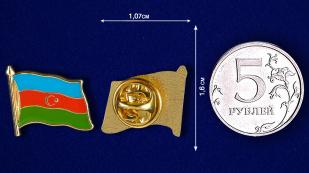 "Заказать значок ""Флаг Азербайджана"""