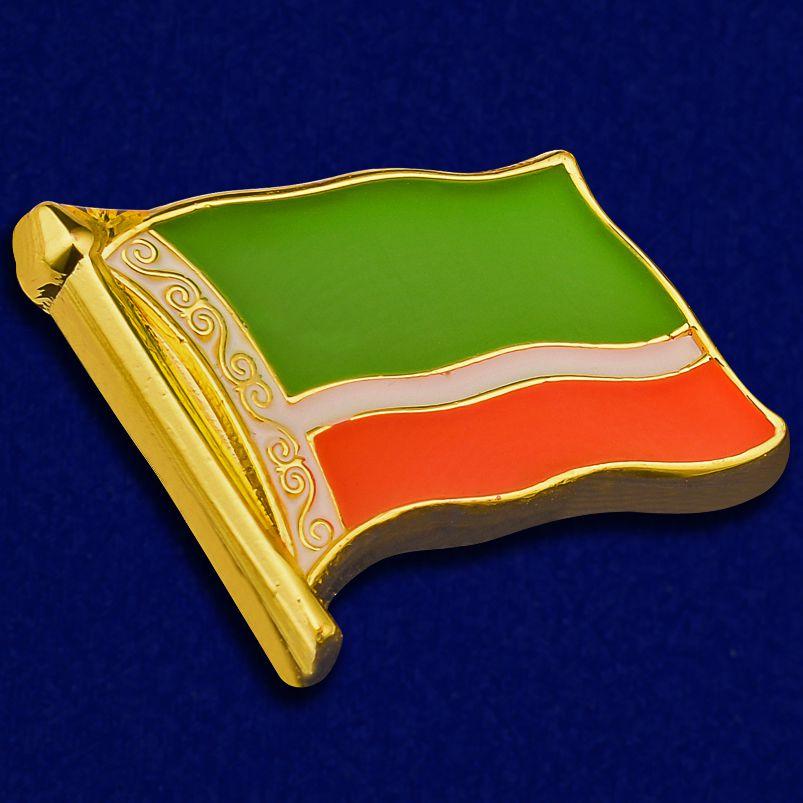 """Значок """"Флаг Чечни"""""""