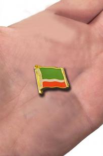 "Значок ""Флаг Чечни"" с доставкой"