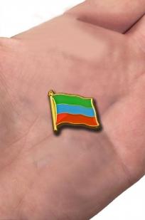 "Значок ""Флаг Дагестана"""