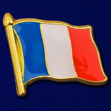 "Значок ""Флаг Франции"""