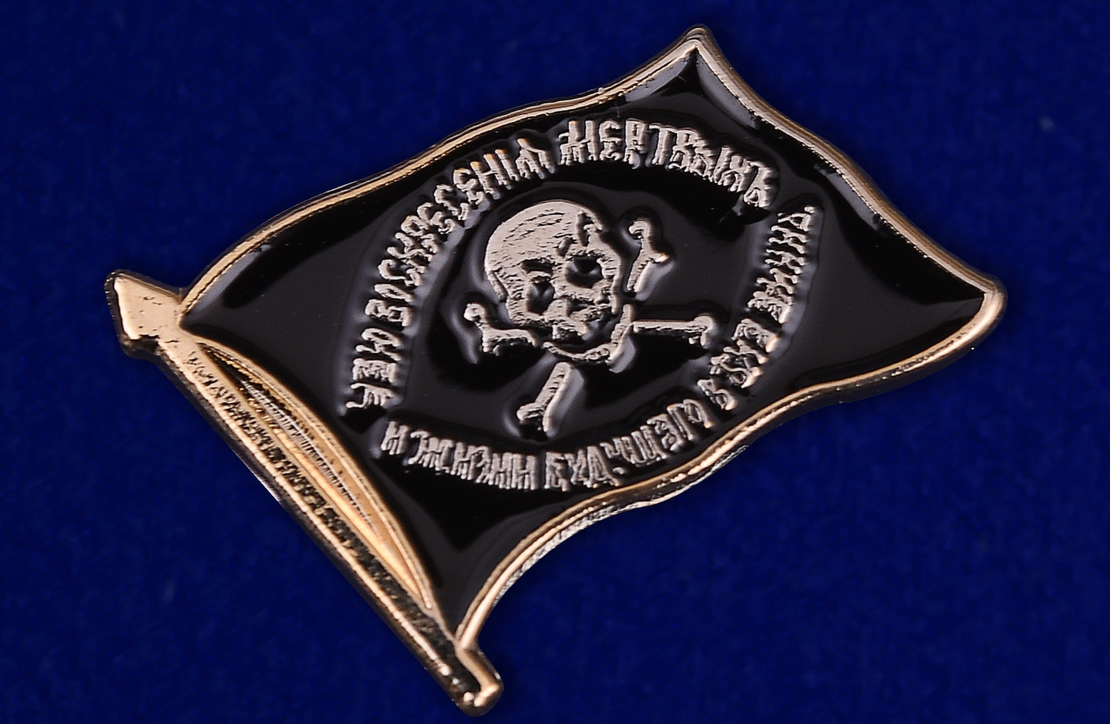 "Значок ""Флаг генерала Бакланова""-внешний вид"
