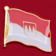 "Значок ""Флаг города Хильдерс"", Гессен, Германия"