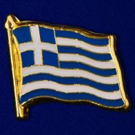 "Значок ""Флаг Греции"""