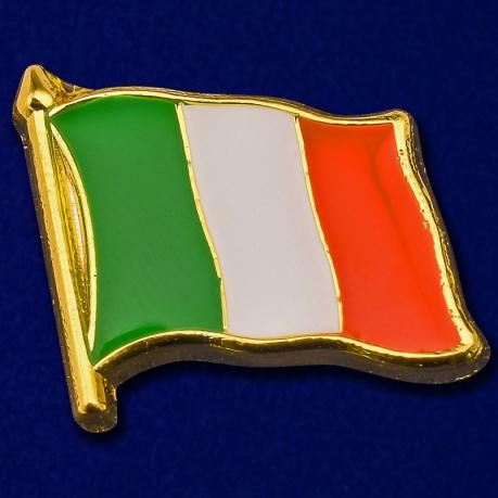 """Значок """"Флаг Италии"""""""