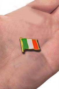 """Значок """"Флаг Италии"""" с доставкой"""