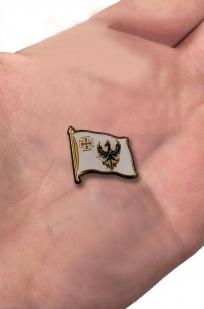 """Значок """"Флаг королевства Пруссии"""" с доставкой"""
