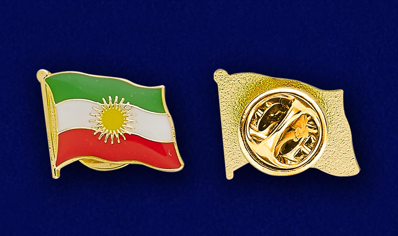 Значок Флаг Курдистана