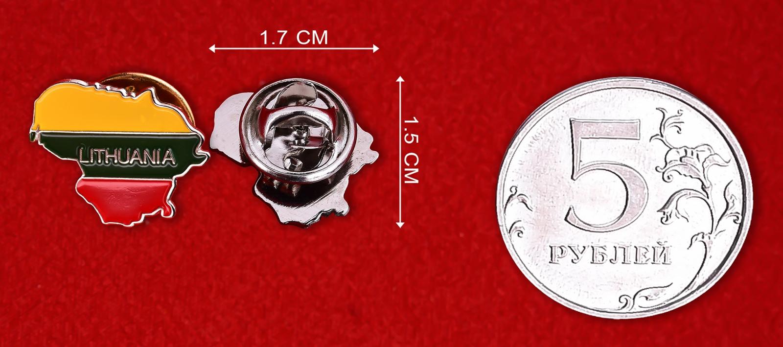 Значок в подарок литовцу