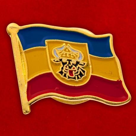 """Значок """"Флаг Мекленбурга"""""""