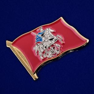 """Значок """"Флаг Москвы"""" - общий вид"""