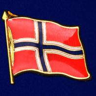"Значок ""Флаг Норвегии"""