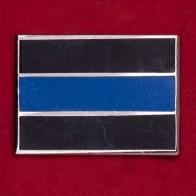 """Значок """"Флаг памяти и скорби по погибшим сотрудникам правоохранительных органов"""""""