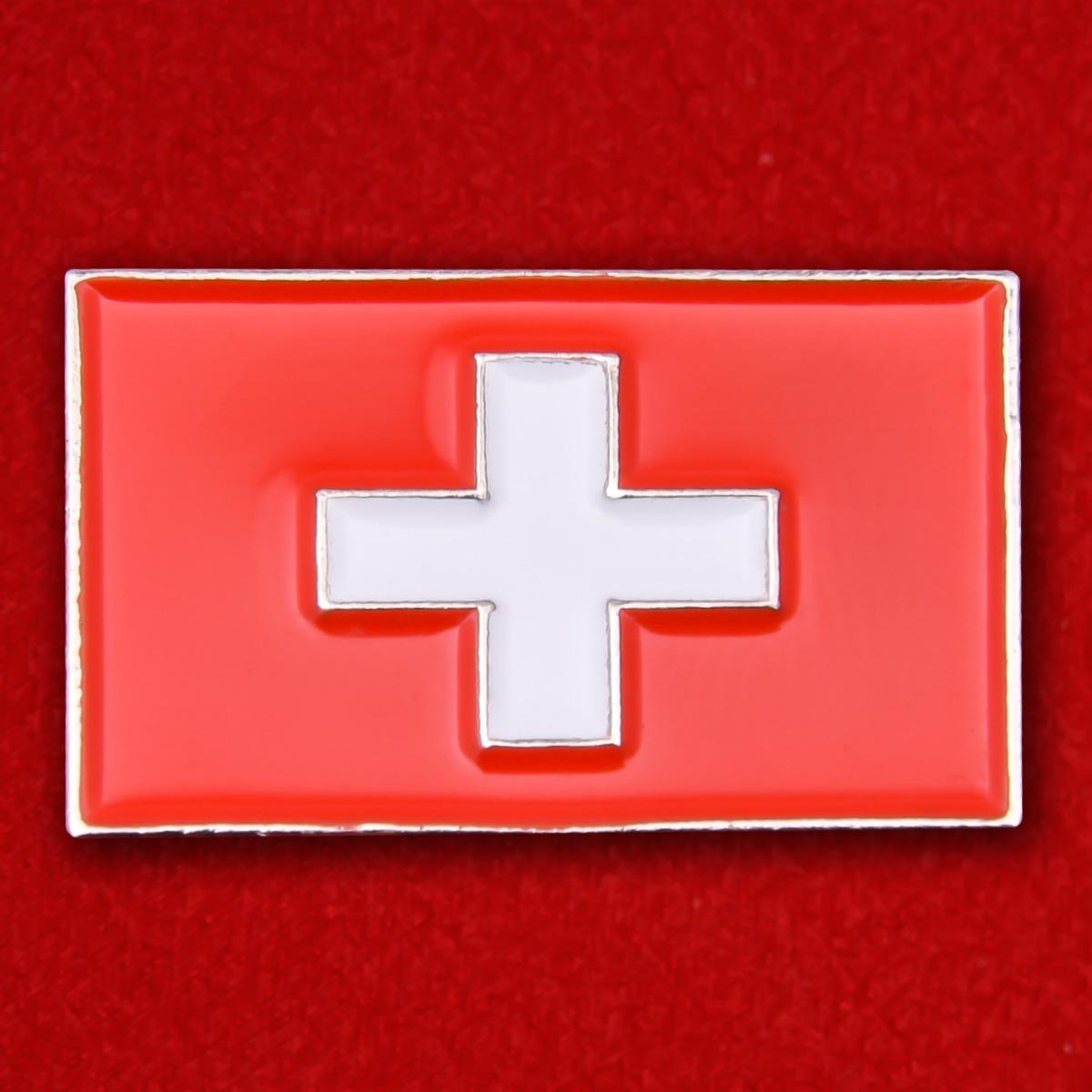 "Значок ""Флаг Швейцарии"""