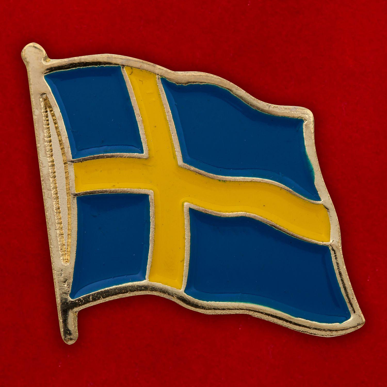 "Значок ""Флаг Швеции"""