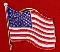 Значок для американца