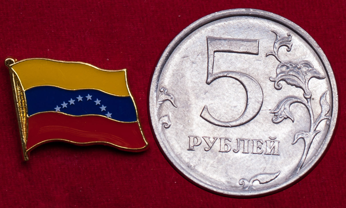 "Значок ""Флаг Венесуэлы"""
