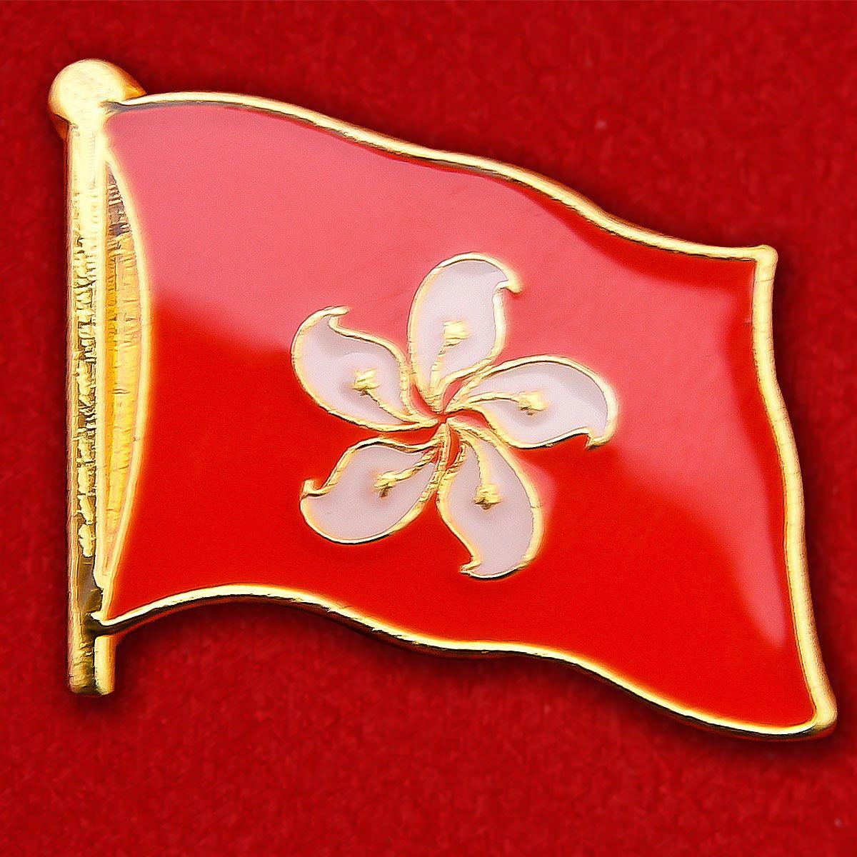 Значок Флага Гонконга