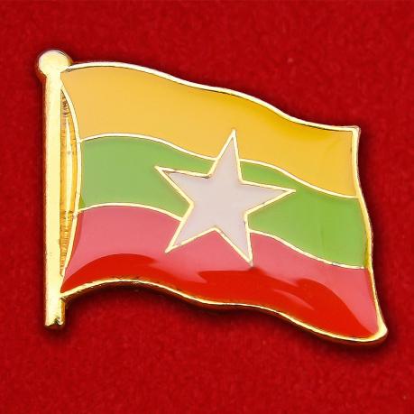 Значок Флага Мьянмы