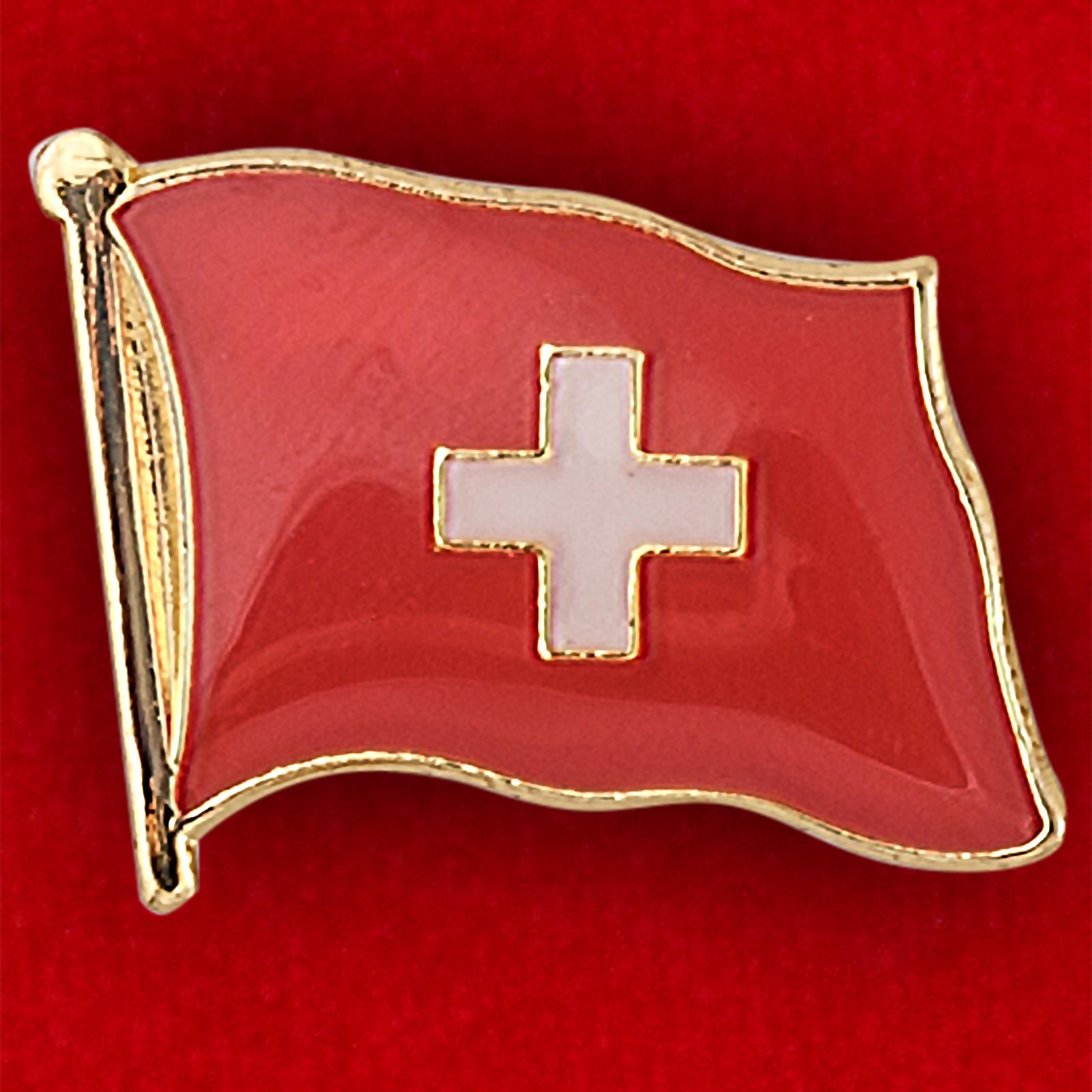 Значок флага Швейцарии