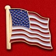 Значок Флага Соединённых Штатов Америки