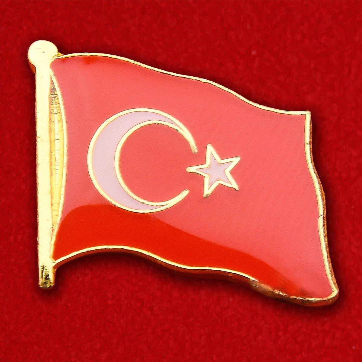 Значок Флага Турции